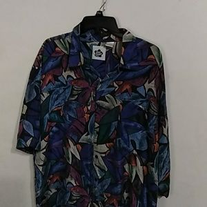 Men's Hilo Hattie Silk XL Hawaiian Shirt